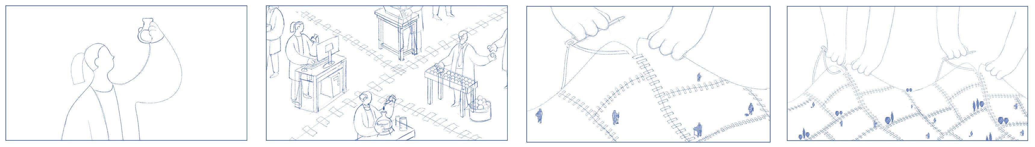 storyboard ejemplo